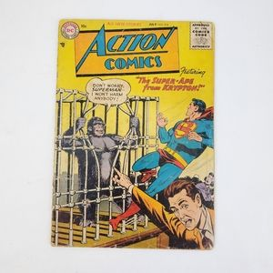 Action Comics #218 1956 The Super-Ape from Krypton